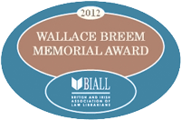 Winner of the Wallace Breem Memorial Award 2012